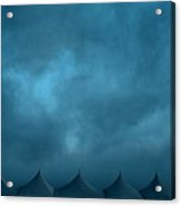 Blue Carnival Acrylic Print