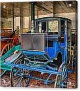 Blue Carriage Acrylic Print
