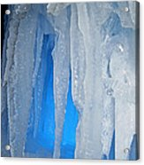 Blue Cave Acrylic Print