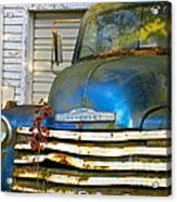 Blue Chevy   Acrylic Print