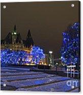 Blue Christmas.. Acrylic Print