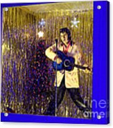 Blue Christmas Without Elvis Acrylic Print