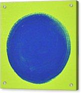 Blue Circ Acrylic Print