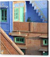 Blue City, Jodhpur, India Acrylic Print