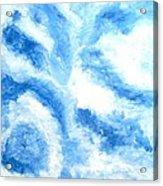 Blue Cloud Acrylic Print