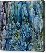 Blue Coral Acrylic Print