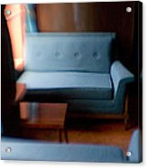 Blue Couch Starlite Lounge Acrylic Print