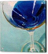 Blue Curacao Acrylic Print
