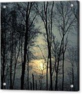 Blue Daybreak Acrylic Print