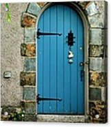 Blue Door In Baltimore Acrylic Print