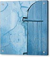 Blue Door In St. Thomas Virgin Islands Acrylic Print