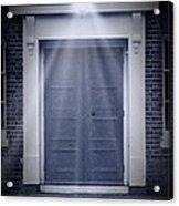 Blue Door Acrylic Print by Svetlana Sewell