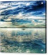 Blue Dream Fishing Acrylic Print