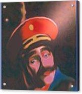 Blue Eyed General Acrylic Print