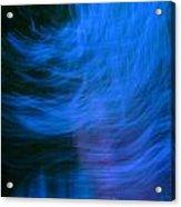 Blue Fire Acrylic Print