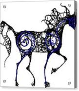 Blue Flame Acrylic Print