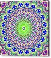 Blue Flares Acrylic Print