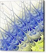 Blue Folium Acrylic Print