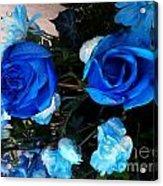 Blue For Hims Acrylic Print