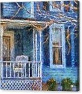 Blue Front Porch Photo Art 01 Acrylic Print