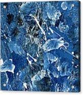 Blue Garden Acrylic Print