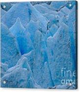 Blue Glacier Acrylic Print