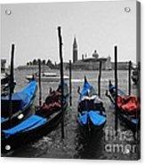 Blue Gondola's Acrylic Print