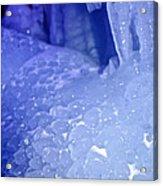 Blue Goosebumps Acrylic Print