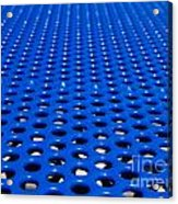 Blue Grate Acrylic Print