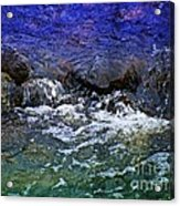 Blue Green Water Acrylic Print