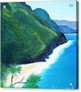 Blue Hawaii Acrylic Print