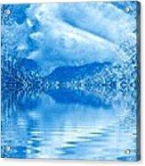 Blue Healing Acrylic Print