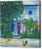 Blue Heaven Wake Up Call  Acrylic Print