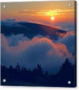 Blue Hill Sunset - Acadia Acrylic Print