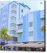 Blue Hotels Acrylic Print