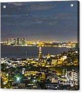 Blue Hour Puerto Vallarta Mexico Acrylic Print