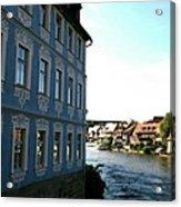 Blue House - Bamberg Acrylic Print