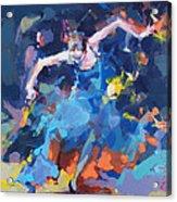 Blue Hurricane Acrylic Print