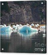 Blue Ice Flows Acrylic Print
