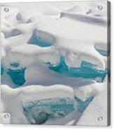 Blue Ice Of Madeline Island Acrylic Print