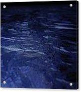 Blue Ice Planet Acrylic Print by Jaime Neo