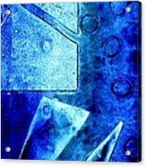 Blue   II Acrylic Print