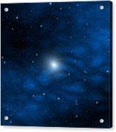 Blue Interstellar Gas Acrylic Print