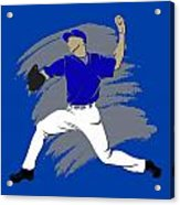 Blue Jays Shadow Player3 Acrylic Print