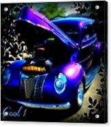 Blue Jewel Art Acrylic Print