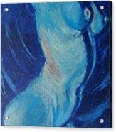 Blue Lagoon - Nudes Gallery Acrylic Print