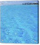 Blue Lagoon. Acrylic Print