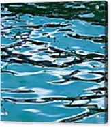 Blue Laguna Acrylic Print