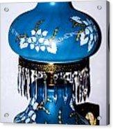 Blue Lamp Acrylic Print