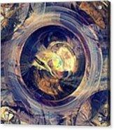 Blue Legend Acrylic Print
